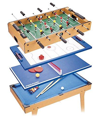 Tachan- Table 4 Jeux en 1 avec Pieds, HG207-4