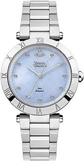 [ヴィヴィアン ウエストウッド ]Vivienne Westwood レディース シルバー ブルーシェル クリスタル ブレスレットウォッチ VV206BLSL 腕時計 [並行輸入品]