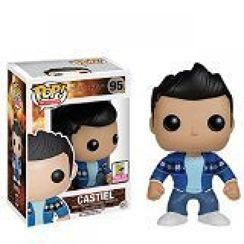 Funko Pop SDCC 2015 Exclusive Supernatural French Mistake Castiel Vinyl Action Figure #095 by