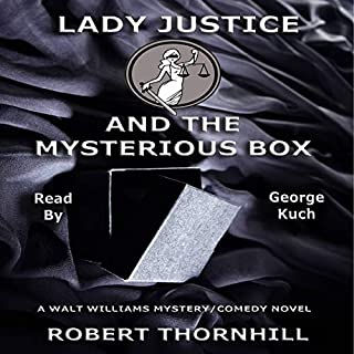 Lady Justice and the Mysterious Box audiobook cover art