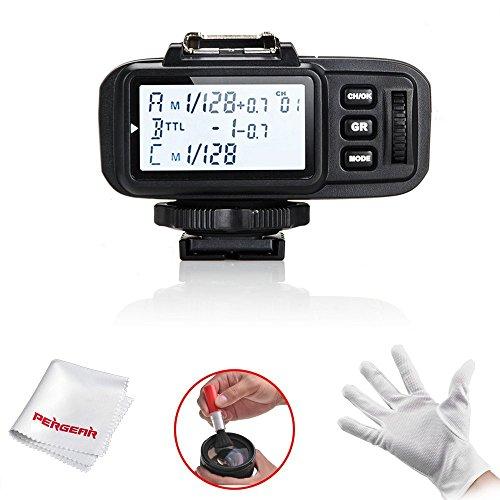 Godox X1T-S 2.4G TTL ワイヤレスフラッシュトリガー 送信機  MIホットシュー付きソニーデジタル一眼レフカメラ Sony A77II A7RII A7R A58 A99 ILCE6000Lなどに対応 Pergearクリーニングキットを贈り物として 日本電波法認証取得