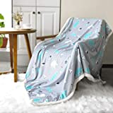 BORITAR Sherpa Throw Blanket Super Soft Warm Ultra Luxurious Fleece Blanket for Children Teens and...