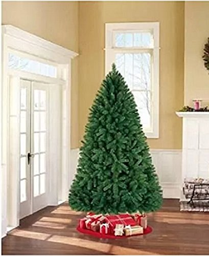 Holiday Time Unlit 7.5' Donner Fir Artificial Christmas Tree