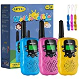 Kids Toys, 22 Channels 2 Way Radio Walkie Talkies for Kid Gift Toy 3 Miles Long Range with Backlit LCD Flashlight, Best Gifts Toys for Boys and Girls to Outside Adventures, Camping, Hiking