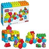 Mega Bloks - DKX60 - Jouet De Premier Age - Mega Bloks First Builders - Train d'Apprentissage 123