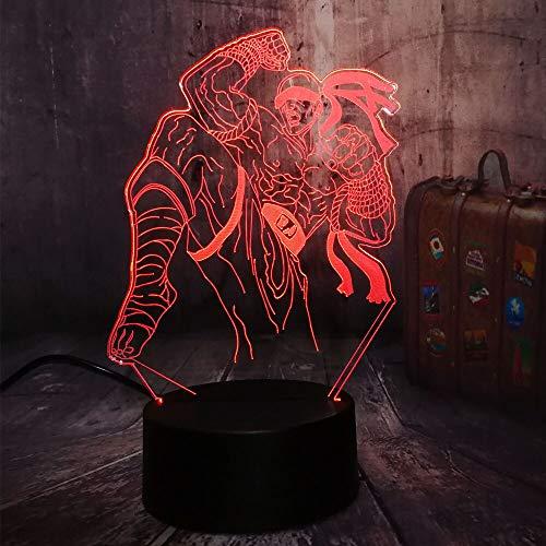 Solo 1 pezzo 3D LED Night Light Gaming Light Migliore luce natalizia per bambini