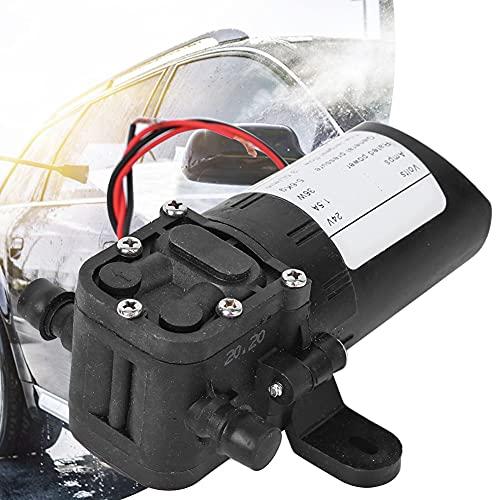 Bomba de diafragma actual, 12V/24V 36W 1.5A Diafragma de agua auto con plástico