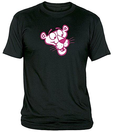 Desconocido Camiseta Pantera Rosa Adulto/niño EGB ochenteras 80´s Retro