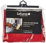 Lafuma Tapicería Airlon de recambio para silla plegable Maxi Pop Up, 100% Poliéster, Rojo, LFM2670-6534