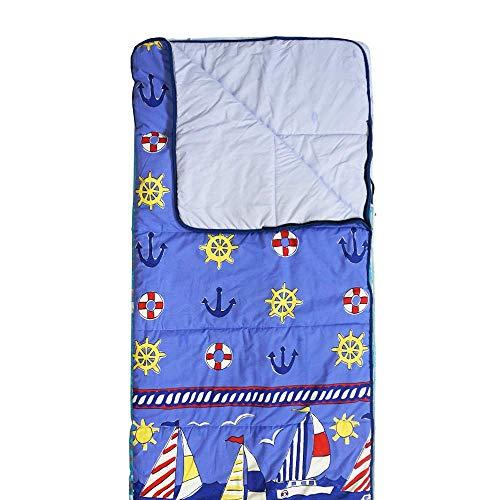 Hosa - Saco Dormir Barcos Azul - Saco Rectangular