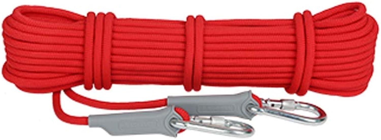 LYM-Rope Kletterseil, Outdoor 12mm Durchmesser Verschleißfeste Verschleißfeste Verschleißfeste Felsrettung Bergsteigen Notfall Flucht Sicherheitsschnur (Farbe   rot, größe   20m) B07P3Y7YPR  Kostengünstig a6769d