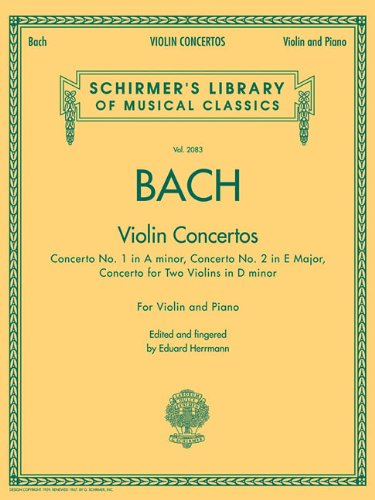 Violin Concertos: Violin(s) and Piano Reduction (Schirmer's Library of Musical Classics)