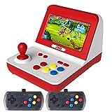 JXD Neue Klassische Nostalgie Retro-Mini-Arcade-Konsole mit großem Rocker Dual-Core 32 GB,...