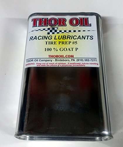 HDM Thor Oil Goat Pee P #5 Tire Prep Softener Conditioner - Quart