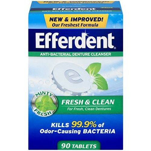 Efferdent Inoltre Mint protesi Cleanser compresse 90 bis (Pack of 7)