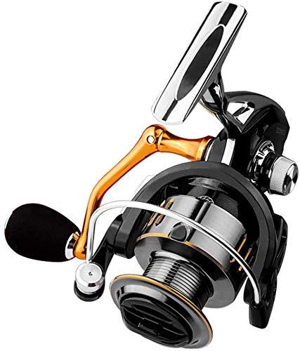 HKAFD Mar Outdoor Paul Bait Casting Accesorios de Pesca de aleación de Aluminio Reel de Phishing Mano Metal Spinning Rueda de Pesca Engranaje