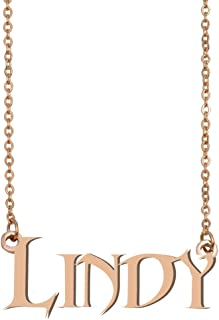 GR859C Personalized Best Friend Name Necklace Unique Jewelry Gifts for her