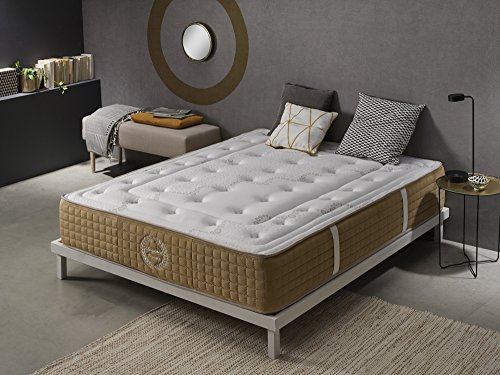Living Sofa Matelas 160x200 cm à mémoire de Forme Bliss Comfort® | Épaisseur 30 cm | 11 Zones de Confort | Soutien Ferme | Mouse H.R. Haute densité | Ergonomique et Orthopédique | Extrêmement Durable