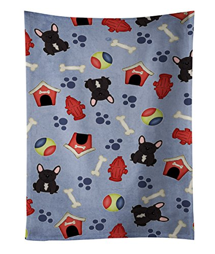 Caroline tesoros del bb2622ktwl Brindle Bulldog Francés toalla de cocina, 25'x 15', multicolor