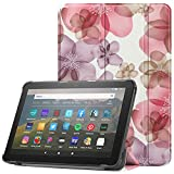VOVIPO Funda Carcasa para Kindle Fire HD 8 y Fire HD 8 Plus (10ª generación, Lanzamiento de 2020), Slim PU Protectora Carcasa Cover para Fire HD 8 Plus/Fire HD 8 2020