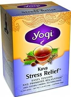 Yogi Herbal Tea Kava Stress Relief Caffeine Free - 16 Tea Bags