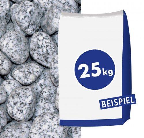 Granit-Gletscherkies Grau 40-60 mm 25 kg