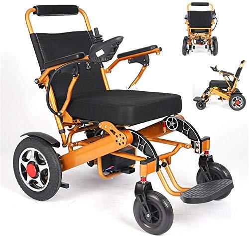 Silla de Ruedas eléctrica Plegable, Sillas de ruedas, silla de ruedas plegable eléctrica, Sillas de alimentación compacto ayuda motriz mecánico motorizado, Personal Scooter silla de ruedas con