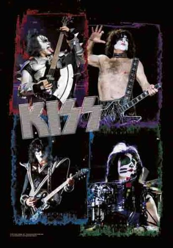Kiss – Frames – Poster Interactive – Flagge 100% Polyester, 75 x 110 cm