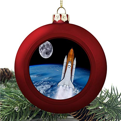 aosup Space Shuttle Rocket/Christmas Ball Ornaments 2020 Christmas Pendant Personalized Creative Christmas Decorative Hanging Ornaments Christmas Tree Ornament №SW36419