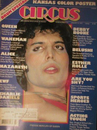 Circus Magazine January 19 1978 Freddie Mercury