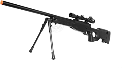 de airsoft shadow ops mk96 bolt action sniper rifle w/ bipod and scope(Airsoft Gun)