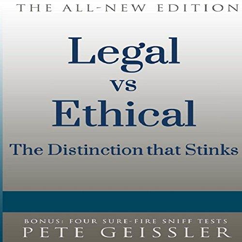 Legal vs. Ethical audiobook cover art