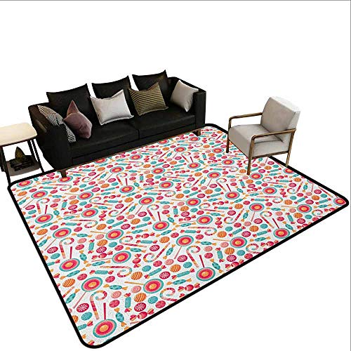 MsShe Tapijt liner voor tapijt Camouflage, Monochroom Kleding Patroon Camouflage binnenkant Vegetatie Mode Design Print, Grijs Kokosnoot