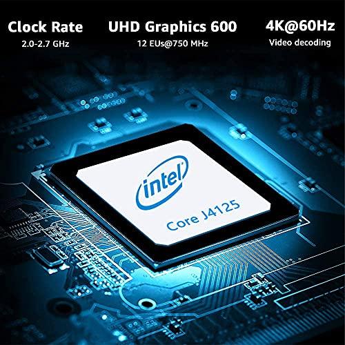 CHUWILarkBoxProミニPC6GB+128GBCeleronJ41254K@60Hzアウトプット2.4G/5GWIFIBT5.1Type-A/USB3.0Windows10搭載静音性省電力超小型miniPC