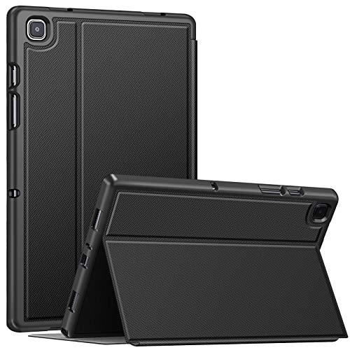 Fintie Hülle für Samsung Galaxy Tab A7 10,4 2020, Robustes Soft TPU Rückseite Gehäuse für unterschiedliche Betrachtungswinkel mit Auto Sleep/Wake für Samsung Galaxy Tab A7 SM-T500/505/507, Schwarz