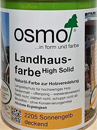Osmo Landhausfarbe Sonnengelb 0,75 l - 11400059