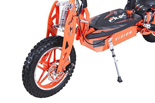 E-Scooter Roller Original E-Flux Vision mit 1000 Watt 36 V Motor Elektroroller E-Roller E-Scooter in vielen Farben (Orange) - 2