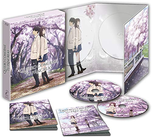 Quiero Comerme Tu Pancreas Blu-Ray Edición Coleccionistas [Blu-ray]