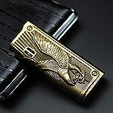 Jet Metal pistola de pulverización en relieve más ligero antorcha turbo butano encendedor cigarrillo humo Accesorios Gadgets para hombres Eaglecool encendedores