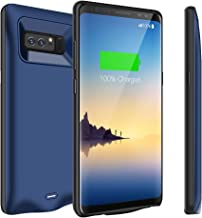 Modernway Galaxy Note 8 Battery Case, 5500mAh Extend Rechargeable Battery Charger Case, Portable Charging Case for Samsung Galaxy Note 8-Blue