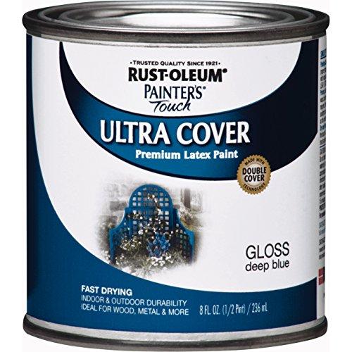 Rustoleum 224423 8 oz Indoor/Outdoor Latex Paint
