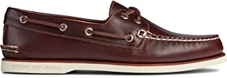 حذاء Sperry Men's Gold A/O 2-Eye Boat Shoe, Amaretto, 7.5