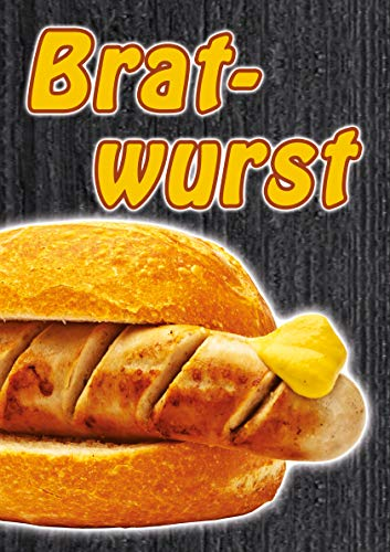 Plakat Bratwurst DINA1-100% wasserfest PVC
