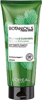 L'Oréal Paris Botanicals Zenzero e Coriandolo, Balsamo Rinforzante per Capelli Fragili, 200 ml