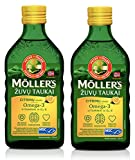 [page_title]-Möller's Omega-3 Lebertran Zitrone (250ml) - 2-Pack