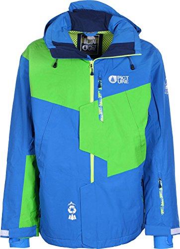 Picture - Picture Oscar Men Jacket Blue Veste Ski Snow - Blue - L - BLUE