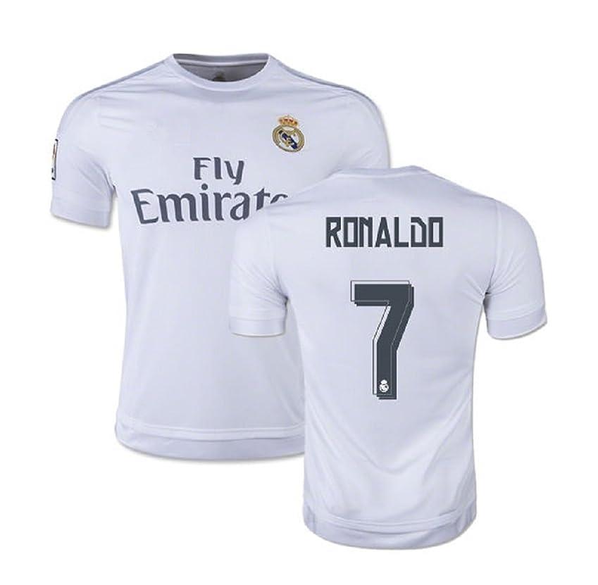 発音神経衰弱検索エンジンマーケティングRonaldo # 7?Real Madrid Home KIDS SOCCER JERSEYキットwith Free Shortsユースサイズ