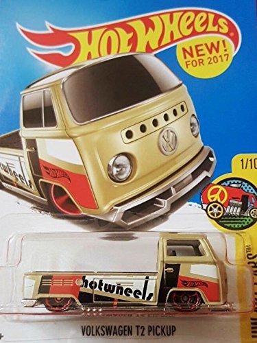 Hot Wheels 2017 HW Art Cars Volkswagen T2 Pickup 201/365, Tan