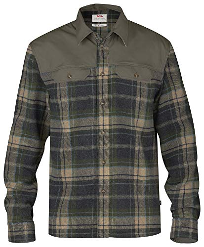FJÄLLRÄVEN Granit Shirt M T-Shirt à Manches Longues Homme Tarmac FR: 2XL (Taille Fabricant: XXL)