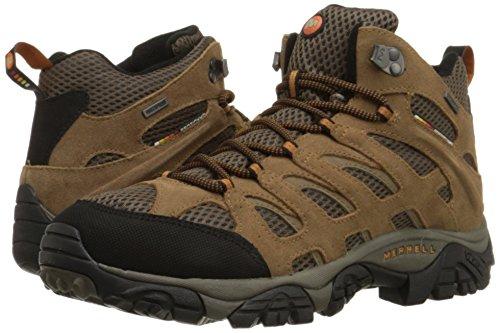 Merrell MOAB MID WATERPROOF J88623, Chaussures de randonnée homme, Marron - Braun/EARTH, 46 EU